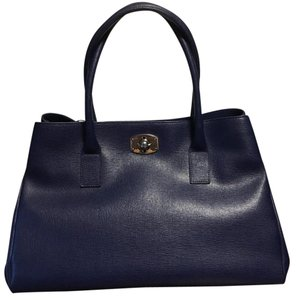Furla Satchel in navy