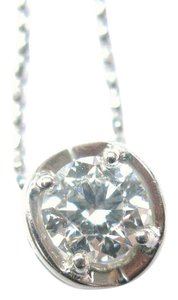 Hearts on Fire Hearts On Fire Round Diamond Solitaire 4-Prong Pendant Necklace .55Ct
