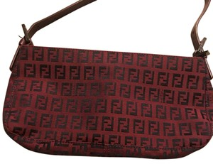 Fendi RED Clutch