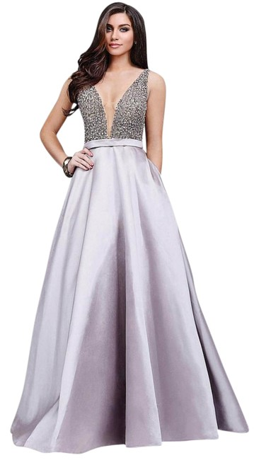 Item - Stone Embellished Prom Long Formal Dress Size 2 (XS)