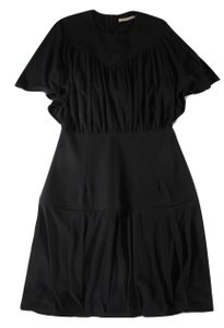 Balenciaga short dress Black Capelet Dolman Sleeves Shift on Tradesy