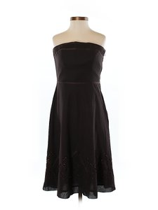 Ann Taylor LOFT Strapless Little Sexy Feminine Beaded Dress