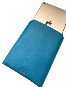 Prada BRAND NEW - Blue Saffiano Prada iPad Mini 2/3 sleeve case