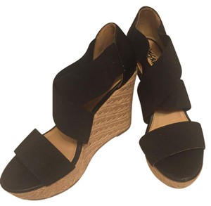 Mossimo Supply Co. black Wedges