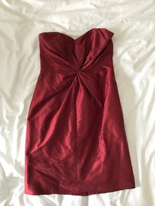Aria Burgundy 103 Dress