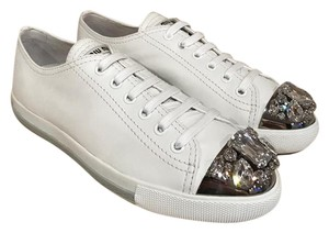 Miu Miu Crystal white Athletic