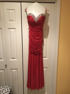 Night Moves Prom Collection Strapless Sweetheart Neckline Dress