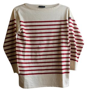 Saint James Top Red and White