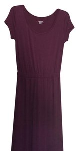 maroon Maxi Dress by Mossimo Supply Co.