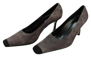 Sacha London Size 8.00m Suede Very Good Condition Gray, Black, Pumps