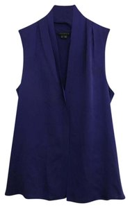 Theory Sleeveless Silk Chic V-neck Top
