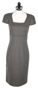 Magaschoni short dress Gray Cashmere Nwt on Tradesy