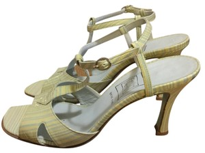 Cynthia Rowley Multi minty green and baby blue Sandals