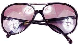 Chanel Chanel Eggplant Purple Aviator Sunglasses 5206 1022/3L