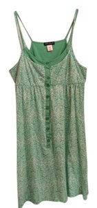 Delusional short dress Green and white Light Cool on Tradesy