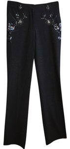 Laundry by Shelli Segal Straight Pants Gray