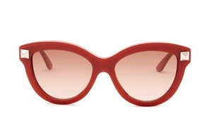 Valentino New Rockstud Cat Eye Sunglasses, Burgundy V695S
