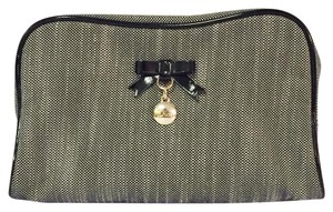 Dior Dior cosmetic case pouch parfums organizer bow motif dangle charm