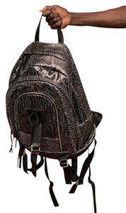 JTbyJT Leather Printedleather Luxury Imported Backpack