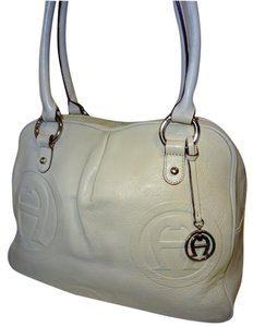 Etienne Aigner Satchel in Bone