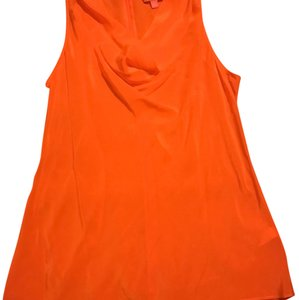Banana Republic Trina Turk Collection Top Orange