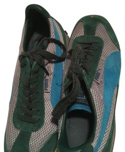 Puma green and blue Athletic