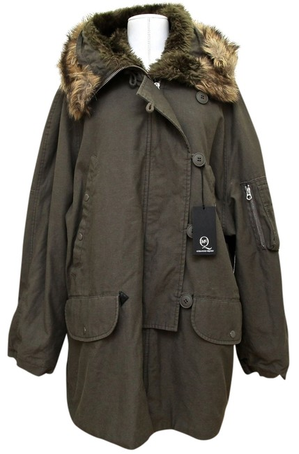 Preload https://item5.tradesy.com/images/mcq-by-alexander-mcqueen-grey-army-green-undertone-parka-jacket-hooded-size-10-m-2101049-0-0.jpg?width=400&height=650