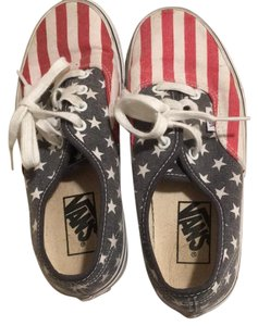 Vans red white and blue Athletic