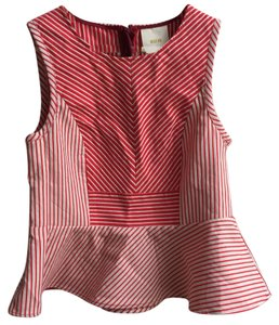 Maeve Top red white