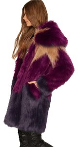 Nasty Gal Faux Fur Fur Coat