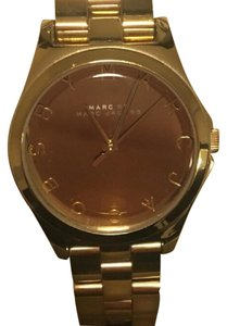 Marc Jacobs gold link watch