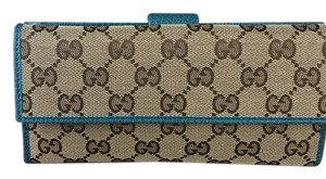 Gucci Guccissima long women's wallet