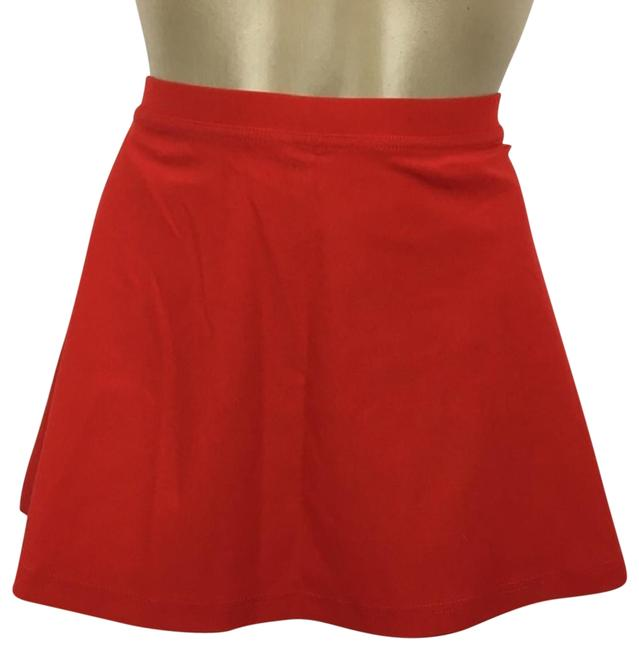 Item - Red Skirt Cover-up/Sarong Size 6 (S)