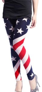 Other Us Flag Patriotic Flag Blue Red White Leggings
