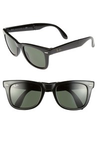 Ray-Ban NEW Ray Ban Black Wayfarer Folding Classic RB4105
