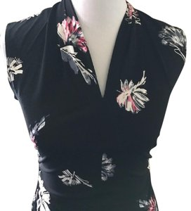 Vince Camuto Sleeveless Vince Top Floral Print