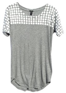 J.Crew T Shirt grey and silver