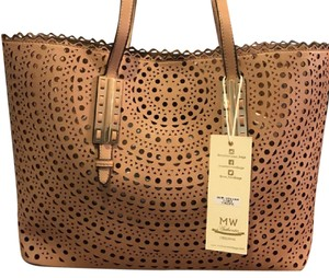 madison west Beach Handbag Tote in taupe