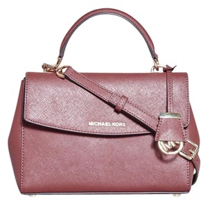 Michael Kors Satchel in Brick Red
