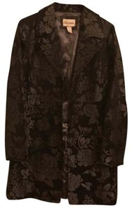White House | Black Market Flower Overcoat Dressy Formal Coat