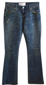 Paper Denim & Cloth Flare Leg Jeans-Distressed