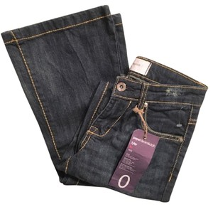 Paper Denim & Cloth Flare Leg Jeans-Dark Rinse