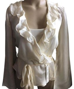 Ralph Lauren Silk Top Ivory