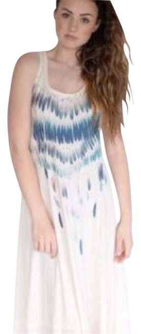 Item - Cream Nwot Feather Gypsy Long Casual Maxi Dress Size 12 (L)