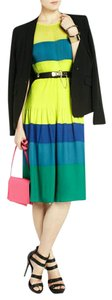 Colot block Maxi Dress by BCBGMAXAZRIA