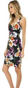Nicole Miller short dress Floral on Tradesy