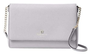 Kate Spade Crossbody Wallet Charlotte Street Satchel in ice stone
