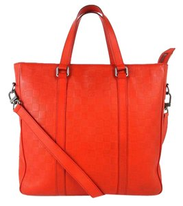 Louis Vuitton Icare Jour Messenger Two-way Kitan Tote in Red