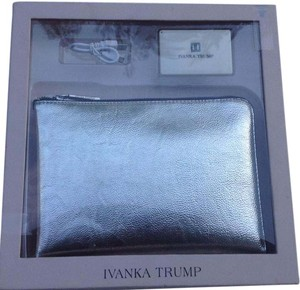Ivanka Trump Rio Tech Power Bank Silver Clutch