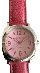 Joan Rivers New Joan Rivers Classics Pink Leather Band Watch